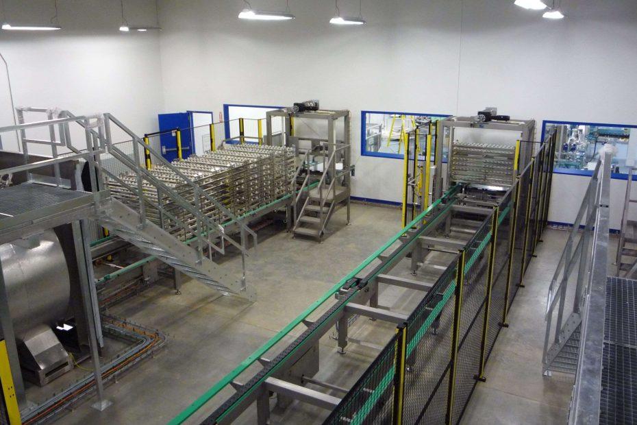 Transportni system M.A.S. Automation 2 1 3